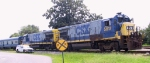 CSX 5817 & 5816 are lead units on an inspection train