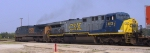 CSX 5115 & 613 lead an intermodal train southbound