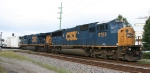 CSX 8753 is on the point of K650, the Juice Train
