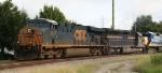 CSX 5217 leads train Q491