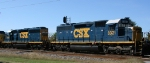 CSX 8321 & 8158 display their YN3 paint