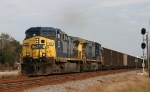 CSX 137 leads train U125 south
