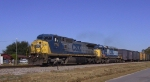 CSX 7710 & 8142 lead a southbound train