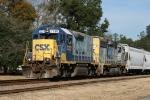 CSX 2330 & 6412 power train F721 southbound