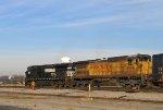 NS 9695 & UP 9196 lead a CSX train southbound