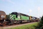 HLCX 8179 follows CSX 9038 & 628 northbound