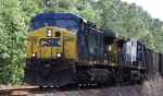 CSX 354 is power for train U390