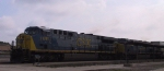 CSX 691 & 614 lead a southbound intermodal train