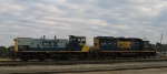 CSX 1185 & 6353 work the yard