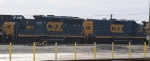 CSX 6972 & 2372 sit in the yard