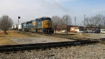 CSX 8723 is about to hit the diamonds
