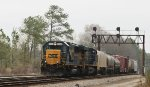 CSX 8558 leads train F739 towards YD