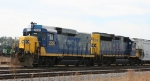 CSX 2250 & 6904 are switching the yard