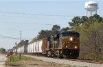 CSX 868 & 52 lead train Q438 northbound