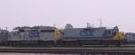 CSX 2339 & 6455 lead a train into the yard off the Tarboro sub