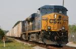 CSX 5406 leads train Q740, the Juice Train, northbound