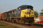 CSX 24 leads train Q408 northbound