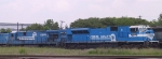 CSX 811 & 7116 display some of Conrail's newest and oldest locos