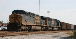 CSX 5106 is the lead loco on train N118 at DI tower