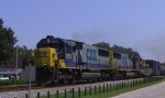 CSX 8703 & 8777 lead a southbound train