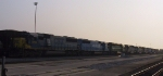 CSX 8708 leads 7 other units