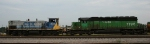 CSX 1137 & HLCX 7196 are switching the yard