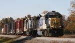 CSX 6441 leads train F 739 northbound