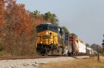 CSX 5285 leads train Q401-22 southbound