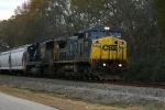 CSX 7379 & 4587 lead train Q493 northbound