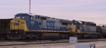 CSX 7846 & 8073 have brought a train into the yard