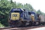 CSX 8631 & 7715 head north with train G865