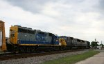 CSX 6001 & 8766 head northbound