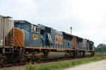 CSX 4779 & 4808 head northbound