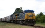 CSX 7812 leads train Q740, the Juice Train, northbound