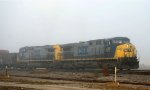 CSX 486 & 209 bring a train into the yard