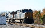 CSX 4714 & 4771 lead an empty coal train at YD