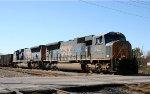 CSX 4714 & 4771 lead an empty coal train