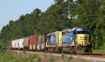 CSX 6430 leads train F739 northbound