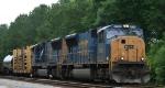 CSX 4730 leads train Q410 northbound