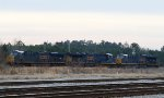 CSX 3199, 3378, and 3383 sit in the ready field