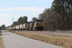 CSX 5419 leads train Q470-03 towards Rocky Mount yard