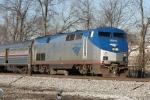 AMTK 6 leads train 80, the Carolinian,