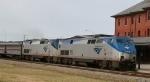 AMTK 195 & 198 lead train 92 northbound