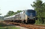 AMTK 65 leads train P090 northbound
