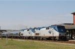 AMTK 82 leads train P092