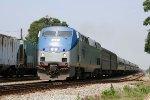 AMTK 83 leads train 80