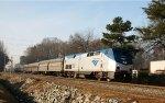 AMTK 130 leads train 80, the Carolinian