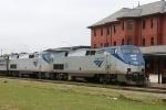 AMTK 89 & 70 lead train P092 northbound