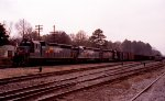 SBD 2018, 2037, & 8003 sit at the north end of the yard