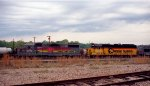 CSX 2710 & 6075 sit in the yard